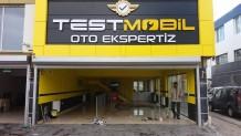 Test Mobil Oto Ekspertiz Kabartma Kutu Harf